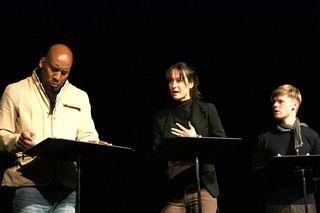 Ezra Knight, Elisabeth Waterston & Randy Harrison, photo by Adrien Goulet